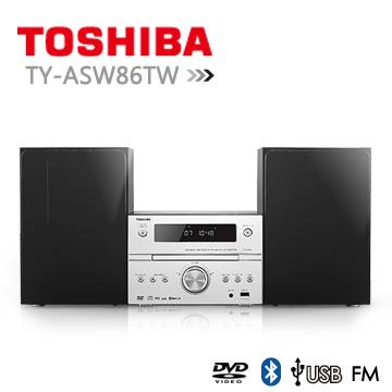 【TOSHIBA】DVD/MP3/USB/藍芽床頭音響 (TY-ASW86TW) 1