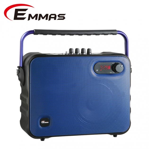 EMMAS 移動式藍芽喇叭/教學無線麥克風 (T-68) 2